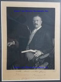 A Theodore Roosevelt Signed Photograph Signed As President