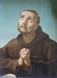 Santo francescano.