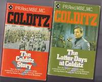 """Colditz:   """"The Colditz Story"""" and the sequel """"The Latter Days at Colditz"""" - both books have TV-Tie-In -Starring Robert Wagner & David McCallum"""
