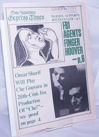 image of San Francisco Express Times: vol.1, #29, August 7, 1968: FBI Agents Finger Hoover!