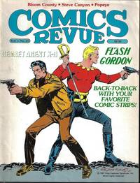 image of COMICS REVUE #25, 1988 (Flash Gordon; Bloom County; Secret Agent Corrigan; more)