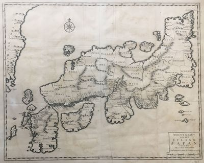 1724. unbound. very good. Map. Engraving. 17 1/4