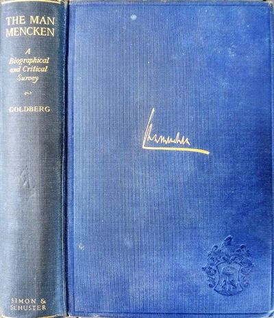 New York:: Simon and Schuster, 1925., 1925. 8vo. xiv, 388 pp. Frontis port., plates, index. Navy gil...