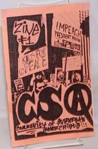 image of Zine #1, CSA, Community of Suburban Anarchists