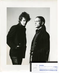 image of Photo of Paul Morrissey and Joe Dallesandro on the set of