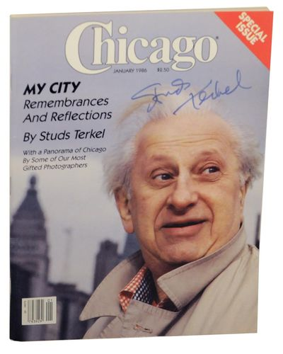 Chicago, IL: Chicago, 1986. First edition. Softcover. Features a 30 page article by Pulitzer Prize w...