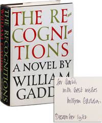 image of The Recognitions: A Novel [Inscribed]