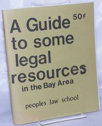image of A guide to some legal resources in the Bay Area