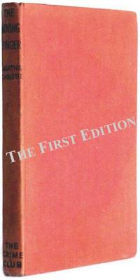Agatha Christie Book The Moving Finger First Edition 1943