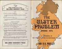 image of ULSTER PROBLEM Spring 1972, A discussion of the True Situation in Northern Ireland, The.