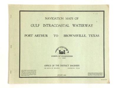 NAVIGATION MAPS OF GULF INTRACOASTAL...