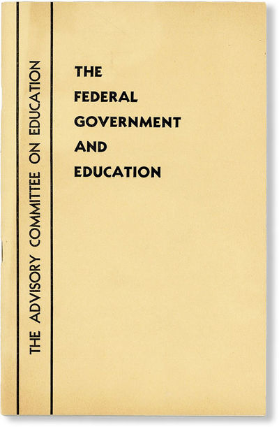. First Edition. Octavo (23.5cm.); publisher's tan printed staplebound card wrappers; 31pp. Fine con...
