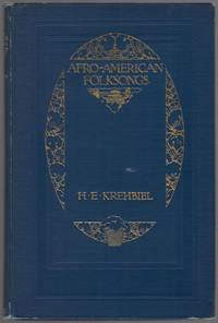 image of Afro-American Folksongs: A Study in Racial and National Music