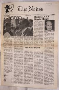 image of The News: vol. 3, #22, January 20, 1989