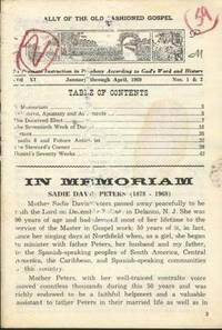 Old-Fashioned Prophecy Magazine, Vol. XI, Jan-Apr Nos. 1&2