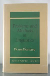 Problems and Methods in Linguistics