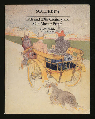 New York: Sotheby's, 1985. Softcover. Very Good. First edition. Very good with some creasing in the ...