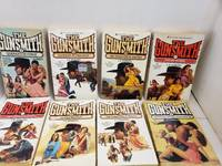 Set of 8 The Gunsmith Series by J.R. Roberts Quanah's Revenge Outlaw Women,