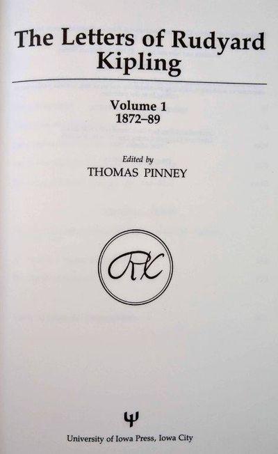 Iowa City, IA:: University of Iowa Press, 1990., 1990. . 8vo. xxxviii, 386. Frontis. port., plates, ...