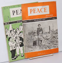 Peace review (first two issues)