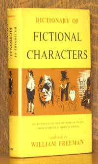 image of DICTIONARY OF FICTIONAL CHARACTERS
