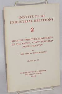image of Multiple employer bargaining in the Pacific Coast pulp and paper industry
