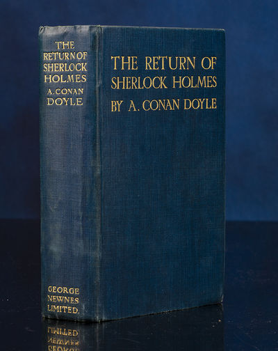 London: George Newnes, 1905. 'Holmes!' I cried. 'Is it really you? Can it indeed be that you are...