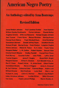 American Negro Poetry: An Anthology