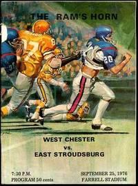 THE RAM'S HORN; WEST CHESTER VS. EAST STROUDSBURG September 25, 1976