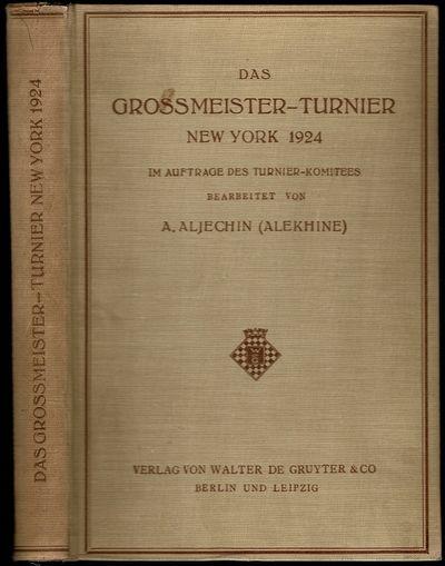 Das Grossmeister-Turnier New York 1924