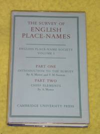 The Survey of English Place-Names Vol.1