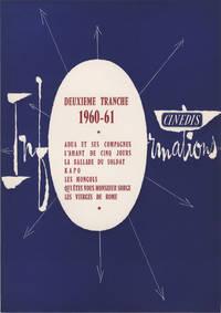 image of Deuxieme Tranche, 1960-61 (Original press release folder)