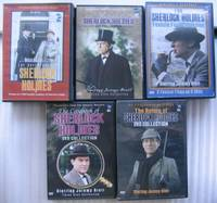 5 DVD Box Set Collections (21 DVDs): Adventures of Sherlock Holmes; Memoirs of Sherlock Holmes; Sherlock Holmes Film Collection; Casebook of Sherlock Holmes; Return of Sherlock Holmes - Jeremy Brett, David Burke, Edward Hardwicke, 41 Episodes & Movies
