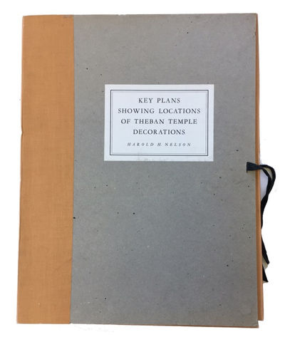 Chicago: University of Chicago Press, 1941. 1st ed. Hardcover. Fine. -page stapled booklet which is ...