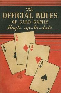 image of OFFICIAL RULES OF CARD GAMES, Hoyle up-to-date, Publishers' 38th Edition, The.