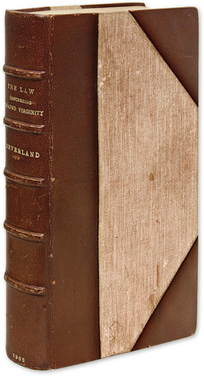 1905. Fine-Press Edition of a Licentious Seventeenth-Century