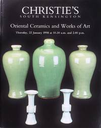image of Christie's Oriental Ceramics and Works of Art (22 January 1998)