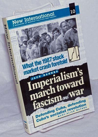 New York: New International, 1994. Magazine. 407p., wraps, illust., in very good condition. Articles...