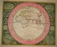 image of (Old World hemispheric map with climatic zones): Hemisphaerium Orbis Antiqui, Cumzonis, Circulis, Et Situ Populorum Diverso