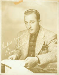 Promotional 8 x 10 Septiatone Photograph of Bing Crosby, With Facsimile Reprint Autograph