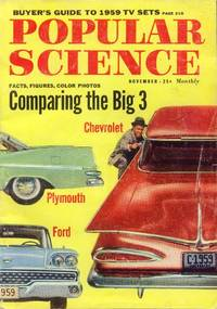 image of Popular Science Magazine: November 1958