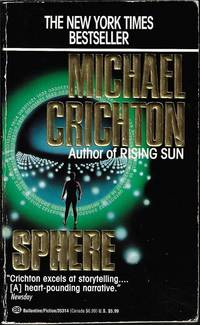SPHERE by  Michael Crichton - Paperback - 1993 - from Books from the Crypt (SKU: EB14.70)