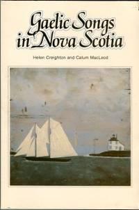 image of Gaelic Songs In Nova Scotia