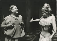 A Funny Thing Happened on the Way to the Forum (Original photograph of Zero Mostel and Inga Neilsen from the 1966 film)