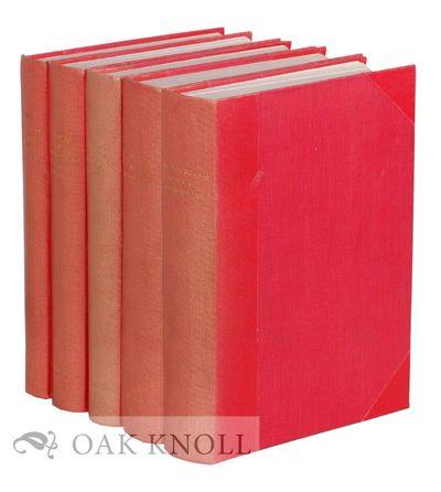 Mies, Vaud, Switzerland: Nicolas Rauch Beaux Livres, 1948. later red cloth with original stiff paper...
