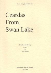 Czardas from Swan Lake arranged for String Quartet