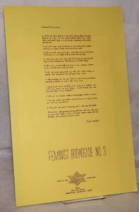 image of Projected View of 2000. Feminist Broadside No. 3