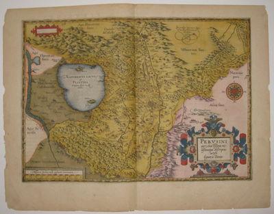 Antwerp: Ortelius, Abraham, 1603. unbound. very good. Map. Engraving with original hand coloring. Im...