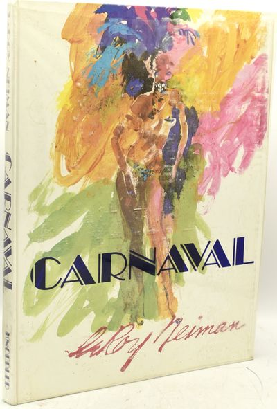 New York: Knoedler, 1981. Hard Cover. Near Fine binding/Very Good dust jacket. Leroy Neiman's lusty,...