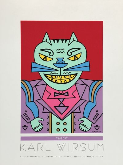 Chicago: Special Editions Limited, 1993. Near fine; excellent condition.. Screenprint poster. 29 x 2...